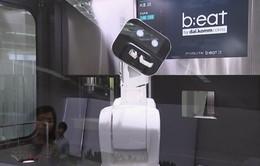 Robot pha cà phê ở Hàn Quốc