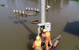 Tăng cường đảm bảo an toàn hệ thống lưới điện mùa mưa bão