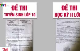 """""""Không có việc trùng đề thi Ngữ Văn THPT"""""""