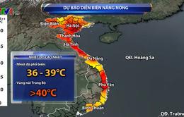 Ngày mai (10/6), nắng nóng gay gắt tiếp tục bao trùm Bắc Bộ, Trung Bộ, có nơi trên 40 độ C