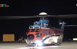 Điều trực thăng ra Trường Sa cấp cứu 2 ngư dân