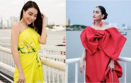 Trương Thị May, Trà Ngọc Hằng rực rỡ tại sự kiện thời trang