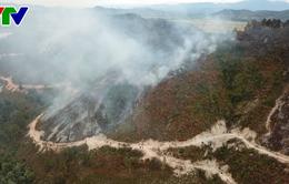 Vì sao chưa huy động trực thăng chữa cháy rừng?