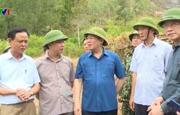 Phó Thủ tướng Vương Đình Huệ thị sát chữa cháy rừng ở Đức Thọ, Hà Tĩnh