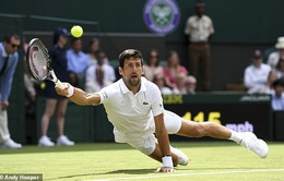 125 phút kịch chiến, Novak Djokovic tiến vào vòng 2 Wimbledon 2019