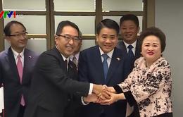 Hàng loạt dự án lớn đầu tư vào Hà Nội được ký kết tại Nhật Bản