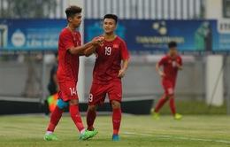 Martin Lò kiến tạo, Việt Cường ghi bàn giúp U22 Việt Nam thắng tối thiểu U18 Việt Nam