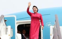 Chủ tịch Quốc hội Nguyễn Thị Kim Ngân đến Bắc Kinh, Trung Quốc