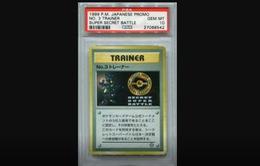 Thẻ bài Pokemon trị giá 60.000 USD bị mất tích