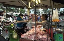 Giá thịt lợn tăng trở lại tại TP. HCM