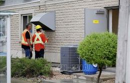 Rò rỉ khí đốt tại Canada khiến 46 người nhập viện
