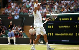 Roberto Bautista Agut hoãn nghỉ hè vì Wimbledon