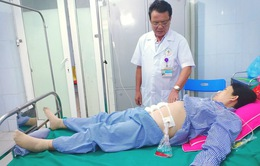 Hút 1,5 lít máu trong ổ bụng cứu sản phụ vỡ tử cung