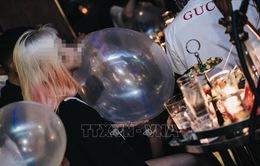 Xử lý Bar Ball kinh doanh bóng cười công khai tại phố cổ Hà Nội