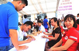 """""""Ngàn trái tim hồng"""" tham gia hiến máu tại tỉnh Thái Nguyên"""