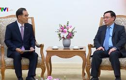 Phó Thủ tướng Vương Đình Huệ tiếp Chủ tịch Tập đoàn phát triển nông thôn Hàn Quốc