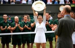 Thắng dễ Serena Williams, Simona Halep lần đầu đăng quang Wimbledon