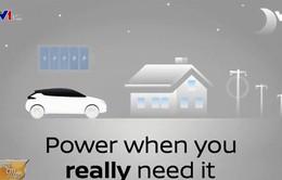 Xe điện có thể trở thành nguồn năng lượng