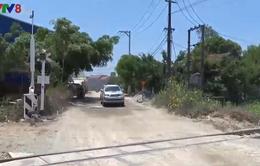 Mất an toàn giao thông tại nhiều đường ngang giao nhau với đường sắt