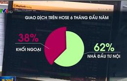 Khối ngoại mua ròng hơn 10.100 tỷ đồng trên HOSE nửa đầu năm