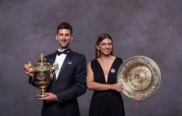 BXH ATP và WTA sau Wimbledon 2019: Djokovic vững ngôi số 1, Simona Halep trở lại top  4