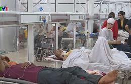 Sức khỏe các nạn nhân vụ lật xe khách ở Đắk Lắk cơ bản ổn định