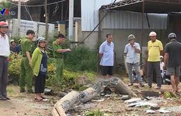 Hiện trường vụ lật xe khách ở Buôn Ma Thuột, Đắk Lắk