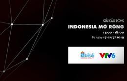 Đài THVN tường thuật trực tiếp giải cầu lông Indonesia mở rộng 2019
