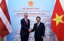Tăng cường hợp tác Việt Nam - Latvia