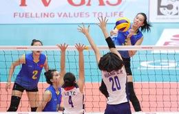 Giải bóng chuyền nữ U23 châu Á, U23 Việt Nam – U23 Kazakhstan: Thẳng tiến vào bán kết (20h, 19/7)