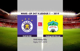 VIDEO Highlights: CLB Hà Nội 1-1 Hoàng Anh Gia Lai (Vòng 16 Wake Up 247 V.League 1 - 2019)