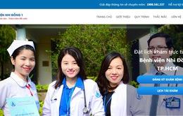 Hôm nay (19/7), Bệnh viện Nhi đồng 1 triển khai đăng ký khám bệnh qua mạng