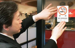 Nhật Bản siết chặt lệnh cấm thuốc lá trong nhà