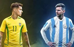 """Lịch trực tiếp bóng đá bán kết Copa America 2019: Rực lửa """"Siêu kinh điển"""" Brazil - Argentina"""