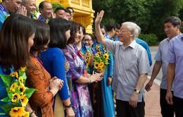 Tổng Bí thư, Chủ tịch nước gặp mặt các đại biểu cán bộ công đoàn tiêu biểu
