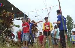 Những sinh viên tình nguyện mang tiếng cười cho thiếu nhi vùng cao