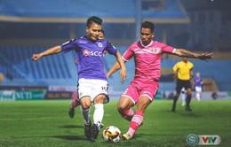 CLB Sài Gòn 1-4 CLB Hà Nội: Quang Hải lập công, CLB Hà Nội áp sát ngôi đầu V.League 2019