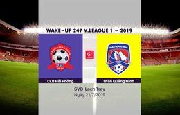 VIDEO Highlights: CLB Hải Phòng 3-2 Than Quảng Ninh (Vòng 17 Wake-up 247 V.League 1-2019)