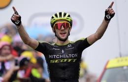 Simon Yates về nhất chặng 15 giải xe đạp Tour de France