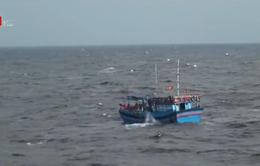 Phát hiện thi thể gần khu vực 9 ngư dân mất tích