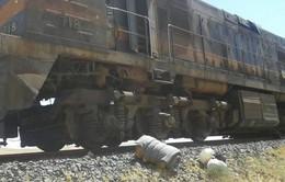 Tàu chở hóa chất tại Syria trúng mìn, nhiều người bị thương
