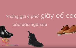 Hướng dẫn chọn giày cổ cao xu hướng 2019