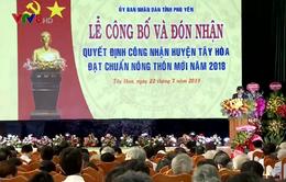 Tây Hòa - Huyện nông thôn mới đầu tiên của Phú Yên