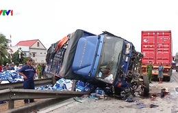 CSGT Hải Dương phản hồi về thông tin xe cảnh sát đỗ gây tai nạn