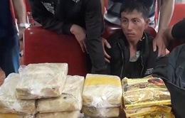 Nghệ An: Bắt 2 đối tượng vận chuyển ma túy manh động dùng lựu đạn chống trả