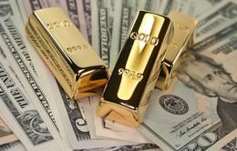 Giá vàng tại Mỹ giảm xuống mức thấp nhất trong 1 tuần
