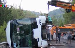 Tai nạn xe bus tại Thổ Nhĩ Kỳ, 25 người bị thương