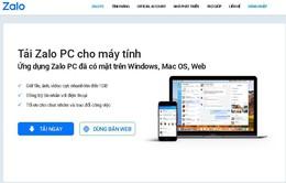 Zalo đã nộp hồ sơ xin cấp phép mạng xã hội