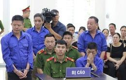 """Xét xử vụ án """"bảo kê"""" ở chợ Long Biên"""