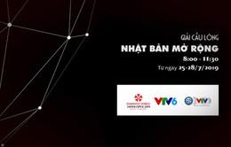 Đài THVN tường thuật trực tiếp giải cầu lông Nhật Bản mở rộng 2019